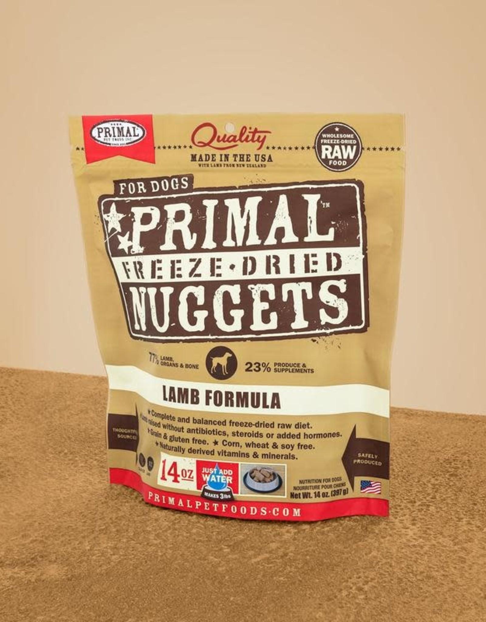 Primal Freeze Dried Nuggets Lamb 14oz
