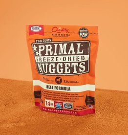 Primal Freeze Dried Nuggets Beef 14oz