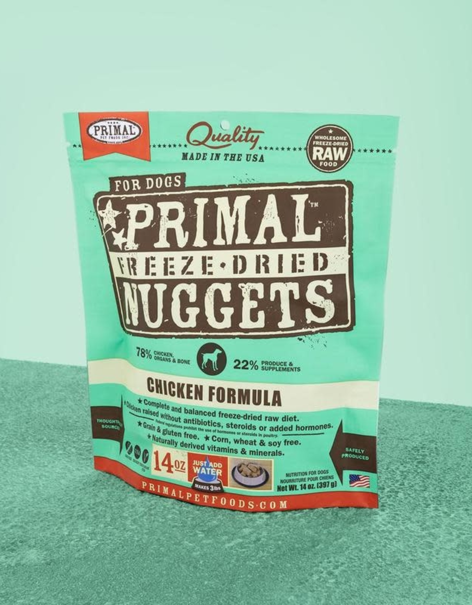 Primal Freeze Dried Nuggets Chicken 14oz