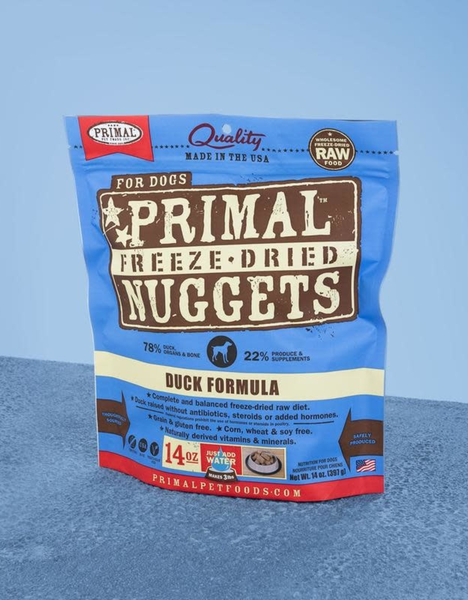 Primal Freeze Dried Nuggets Duck 14oz
