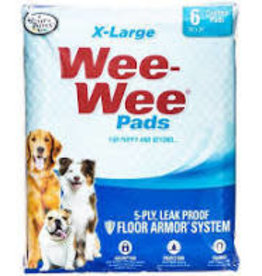 Four Paws Wee Wee Pads XL - 6 Pack