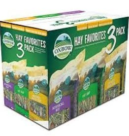 Oxbow Hay Favorites 3pk