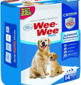 Four Paws Wee Wee Pads - 14 Pack