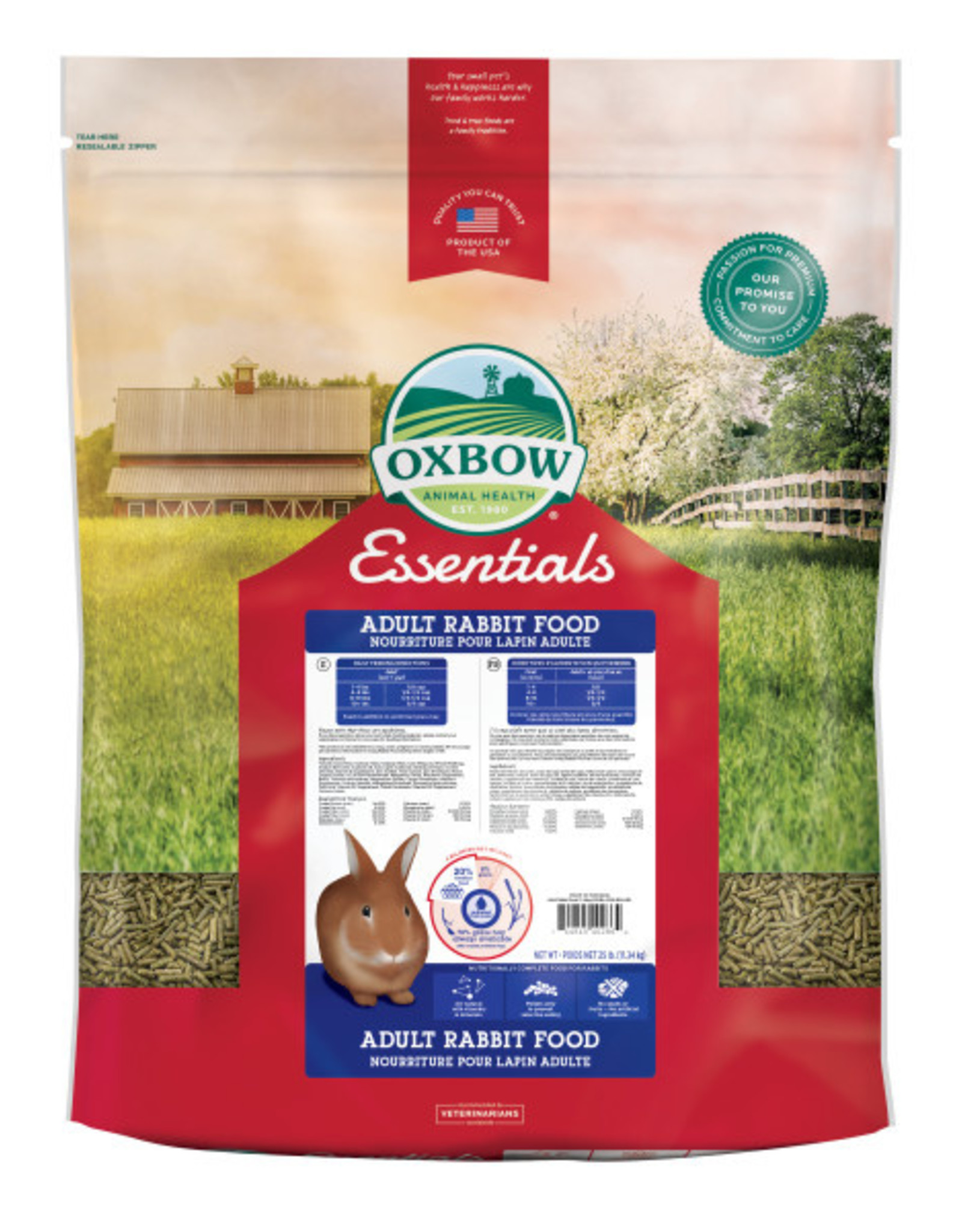 Oxbow Adult Rabbit Pellets 25lbs