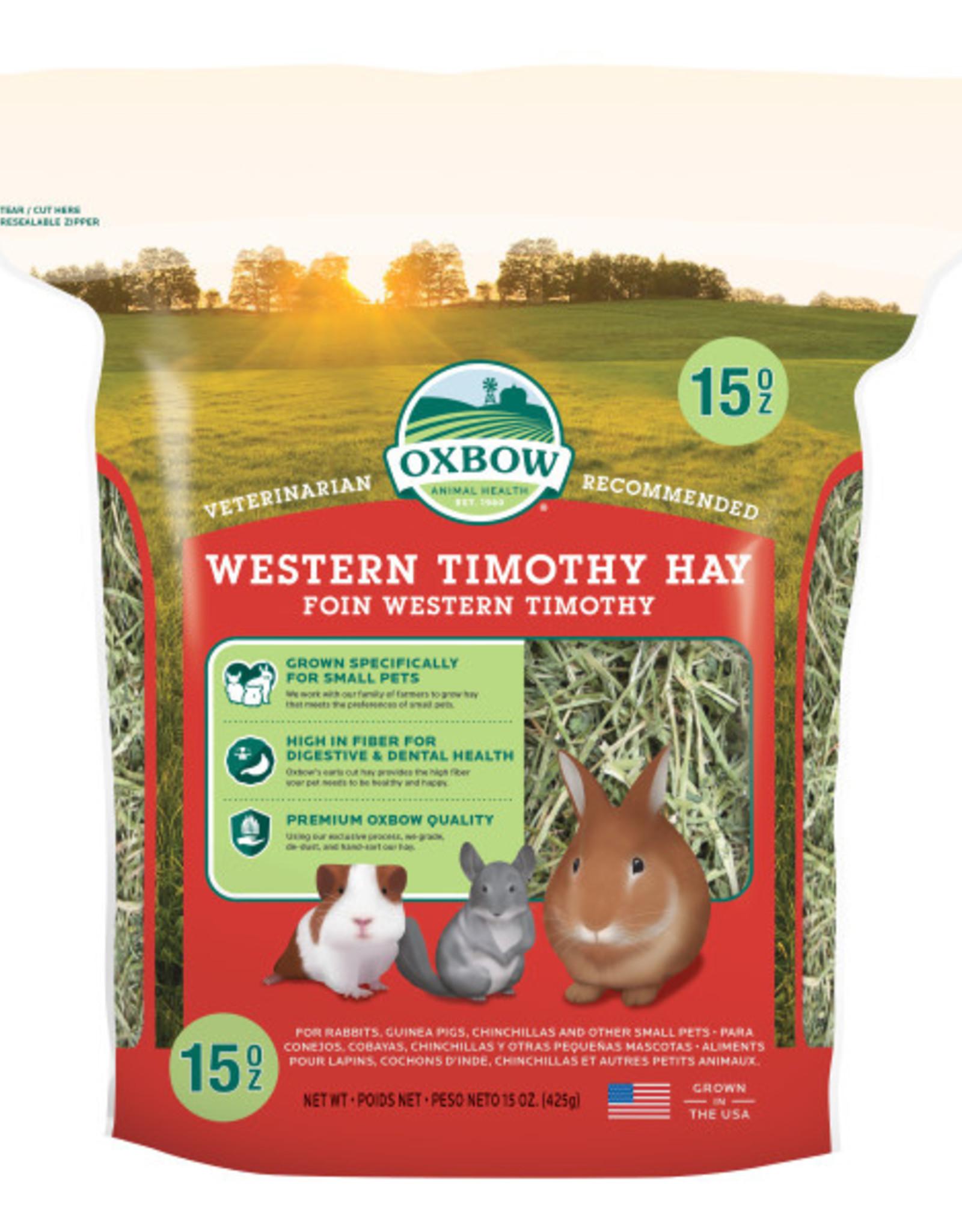 Oxbow Western Timothy Hay 15 oz