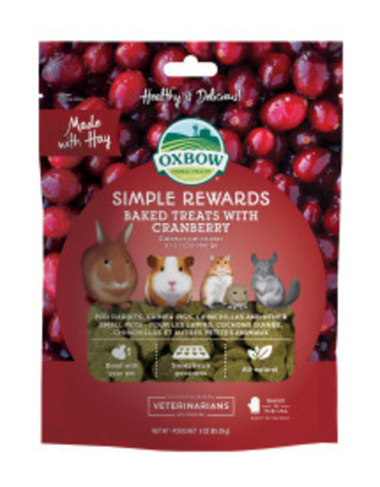 Oxbow Cranberry Baked Treats