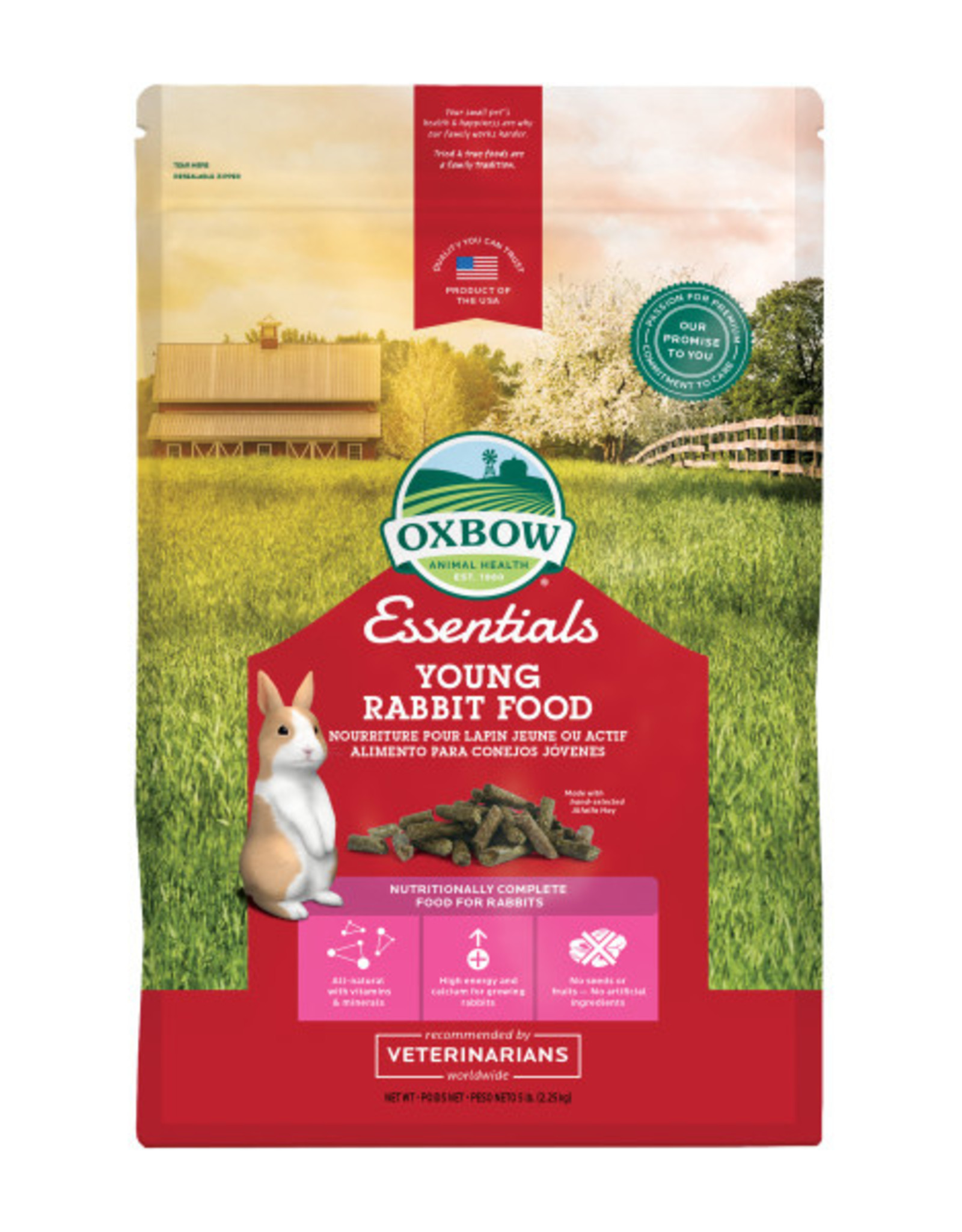 Oxbow Young Rabbit Food (5lb)