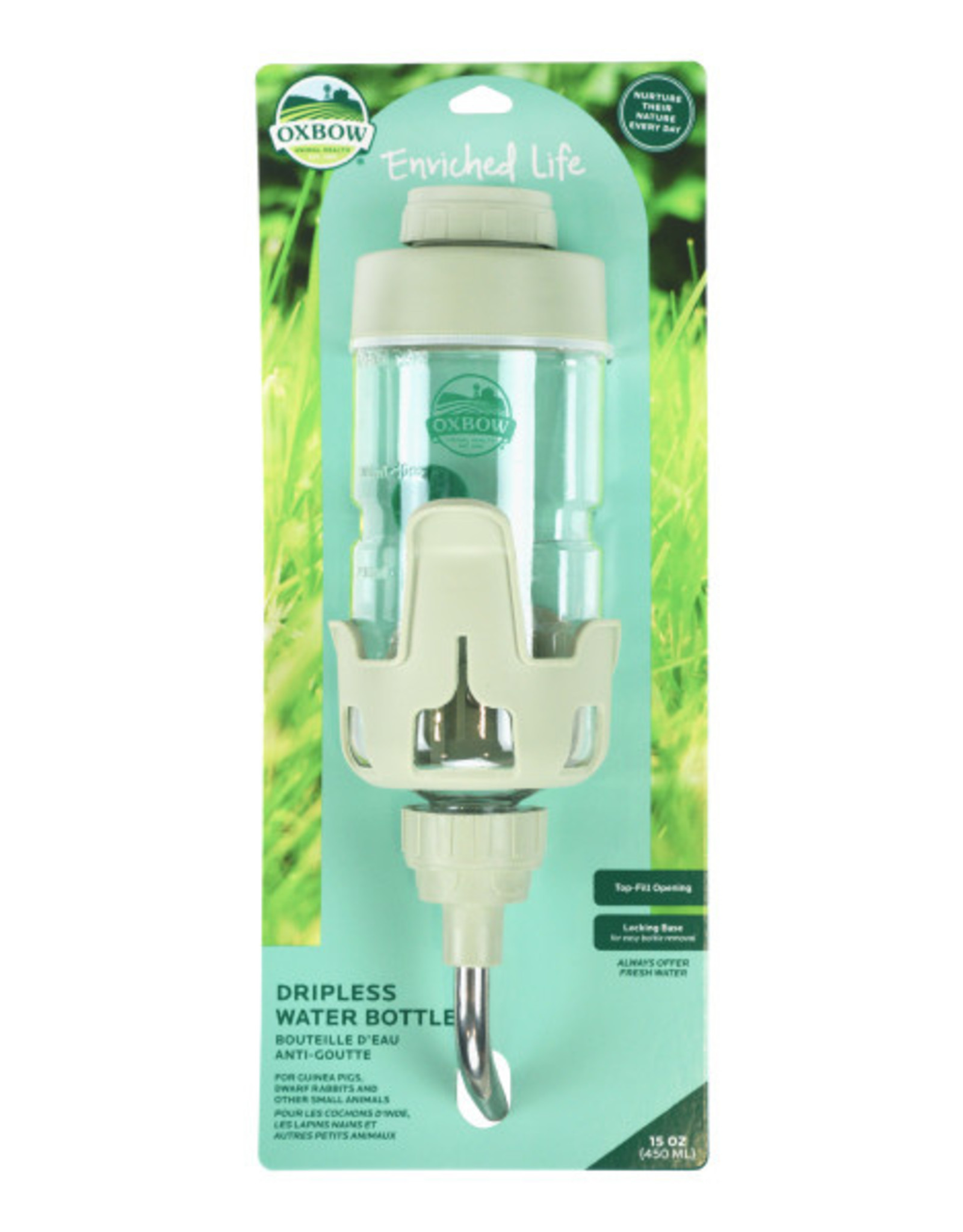 Oxbow Dripless Water Bottle - Small (15oz)