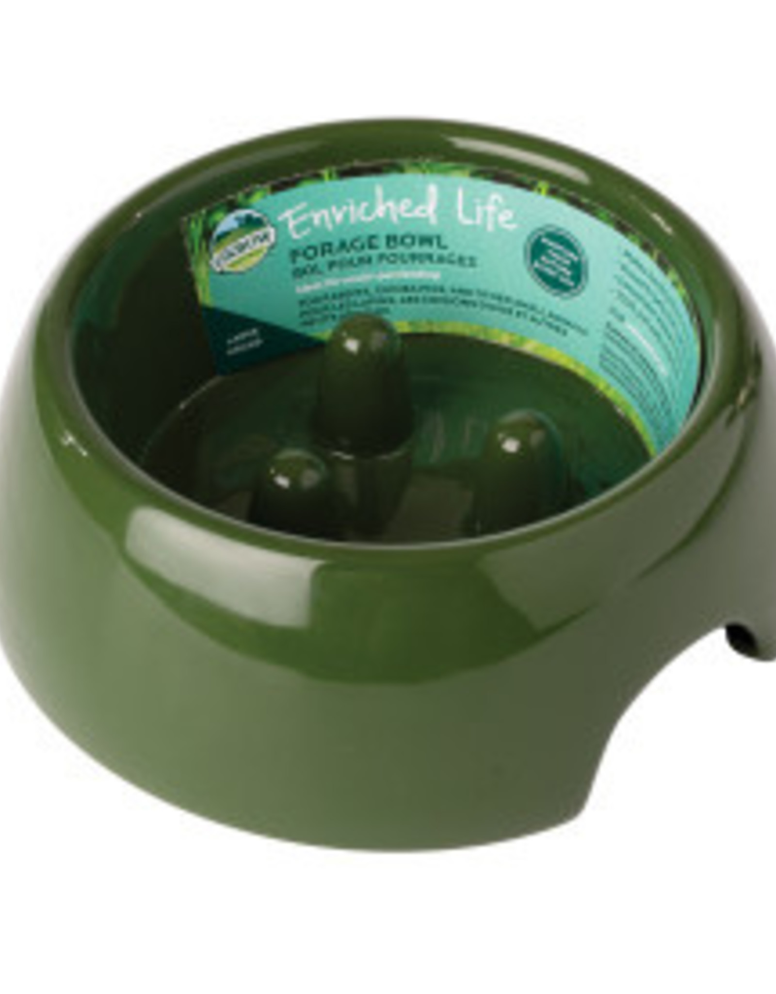 Oxbow Forage Bowl Large- Moss Green