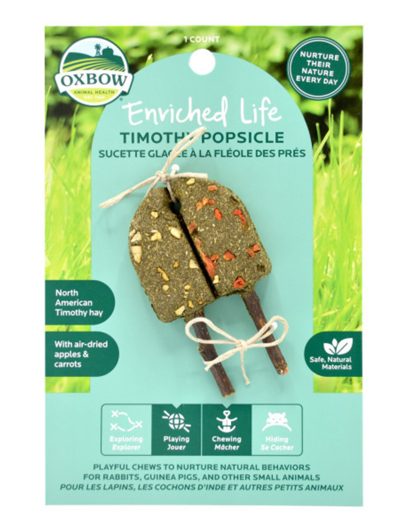 Oxbow Timothy Popsicle