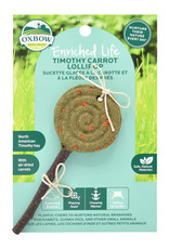 Oxbow Timothy Lollipop-Carrot