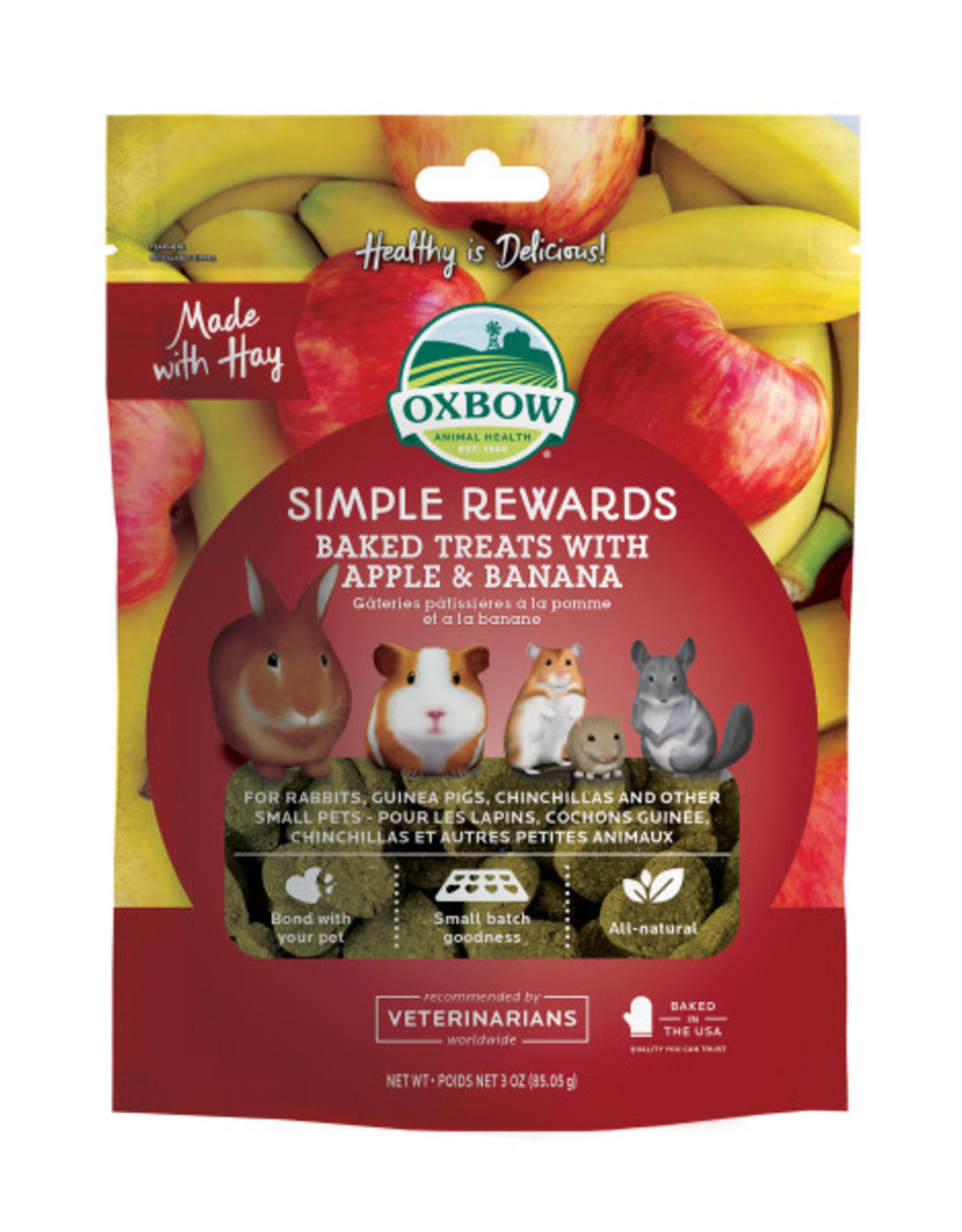 Oxbow Apple Banana Baked Treats