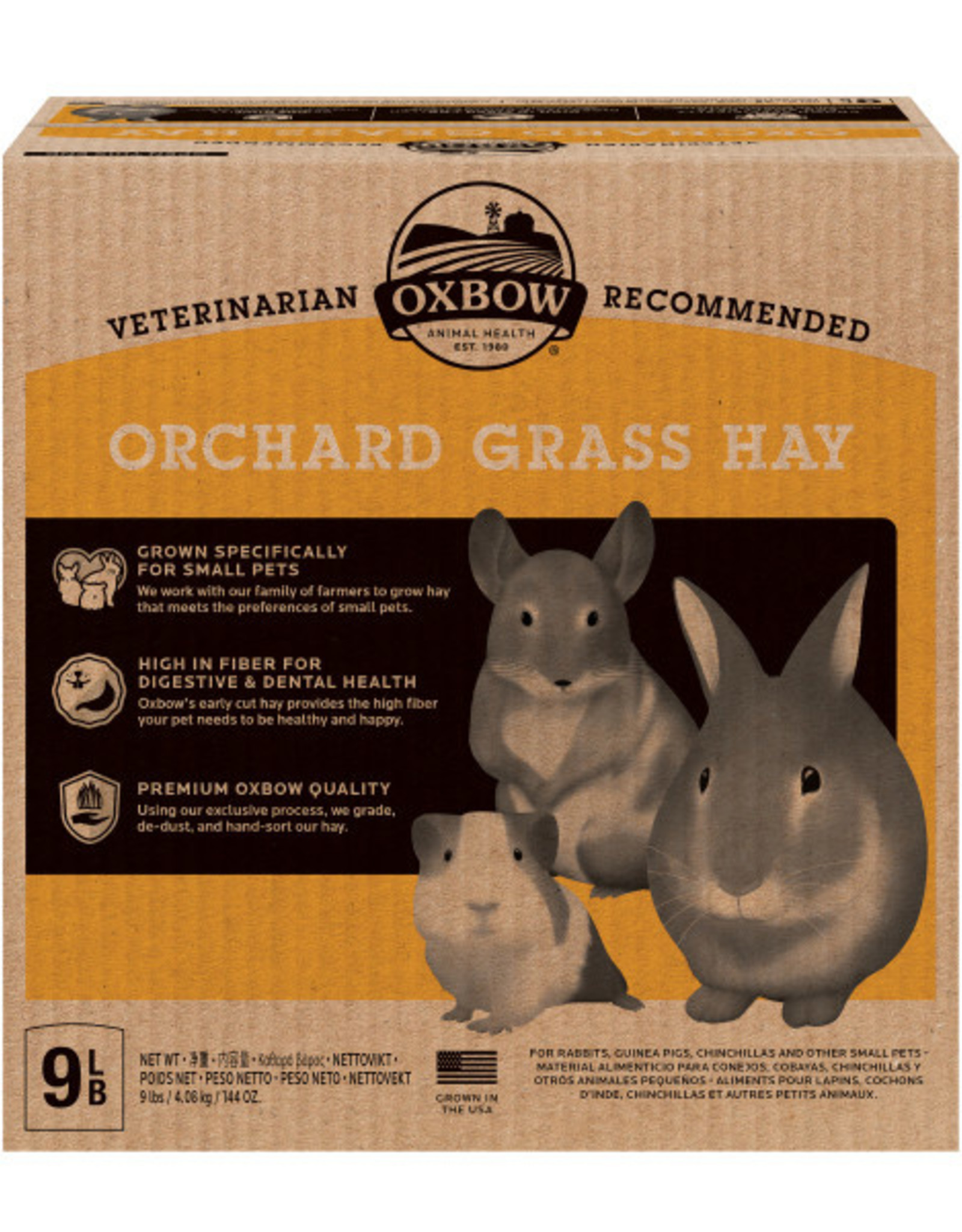 Oxbow Orchard Grass Hay - 9LB