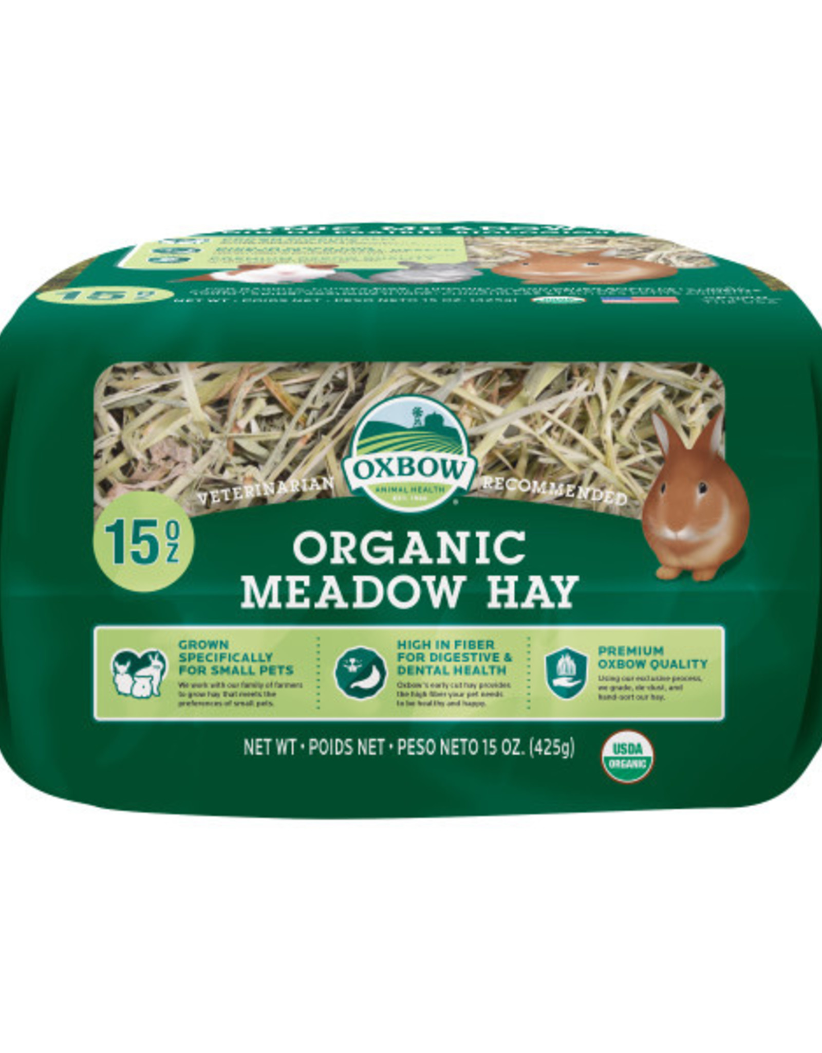 Oxbow Organic Meadow Hay 15 oz