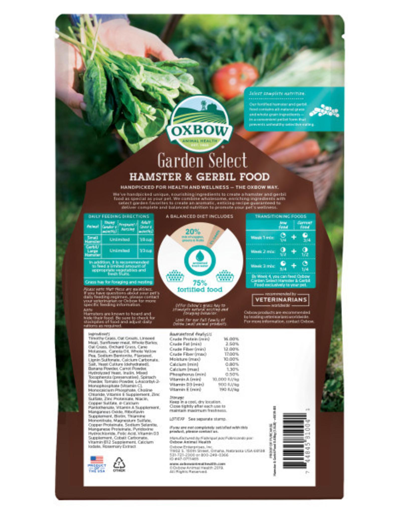 Oxbow Garden Select Hamster & Gerbil 1.5lb