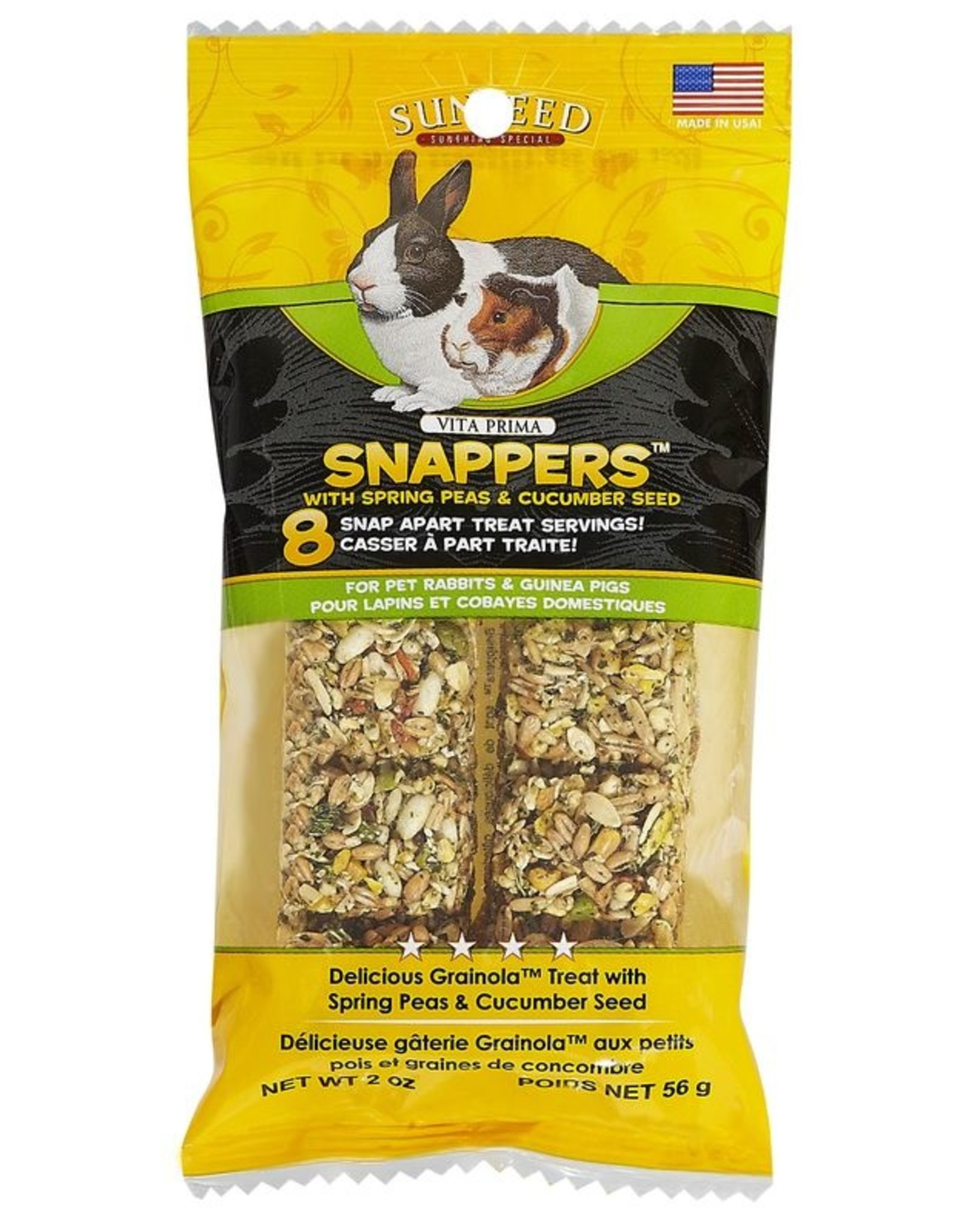 Sunseed Snappers: Pea & Cucumber