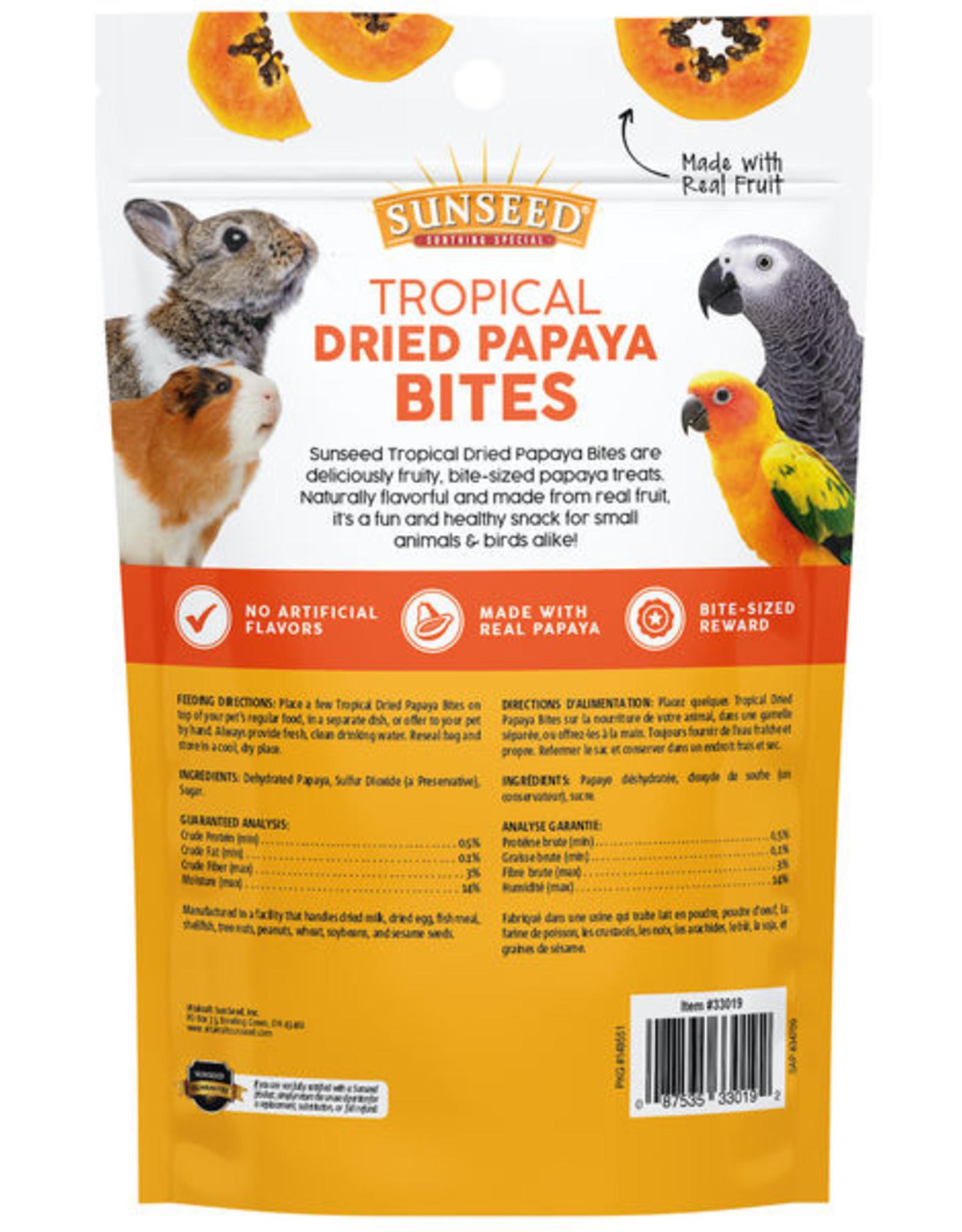 Sunseed Tropical Dried Papaya Bites