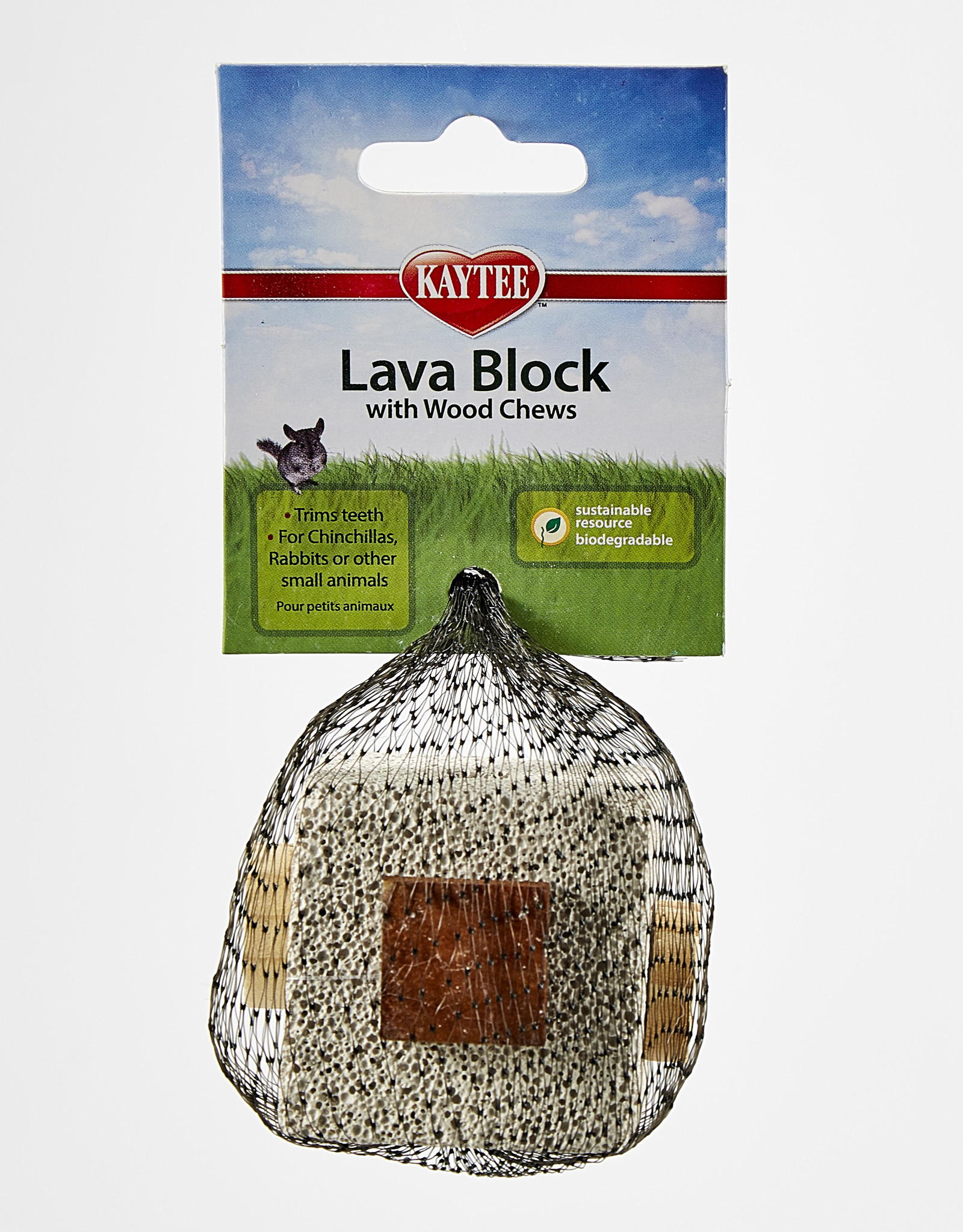 Kaytee Natural Lava Block Chew