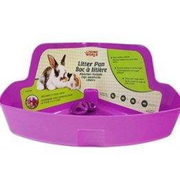 Living World Small Animal Litter Box -Purple