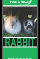 Poulin Grain Rabbit16%  50lb
