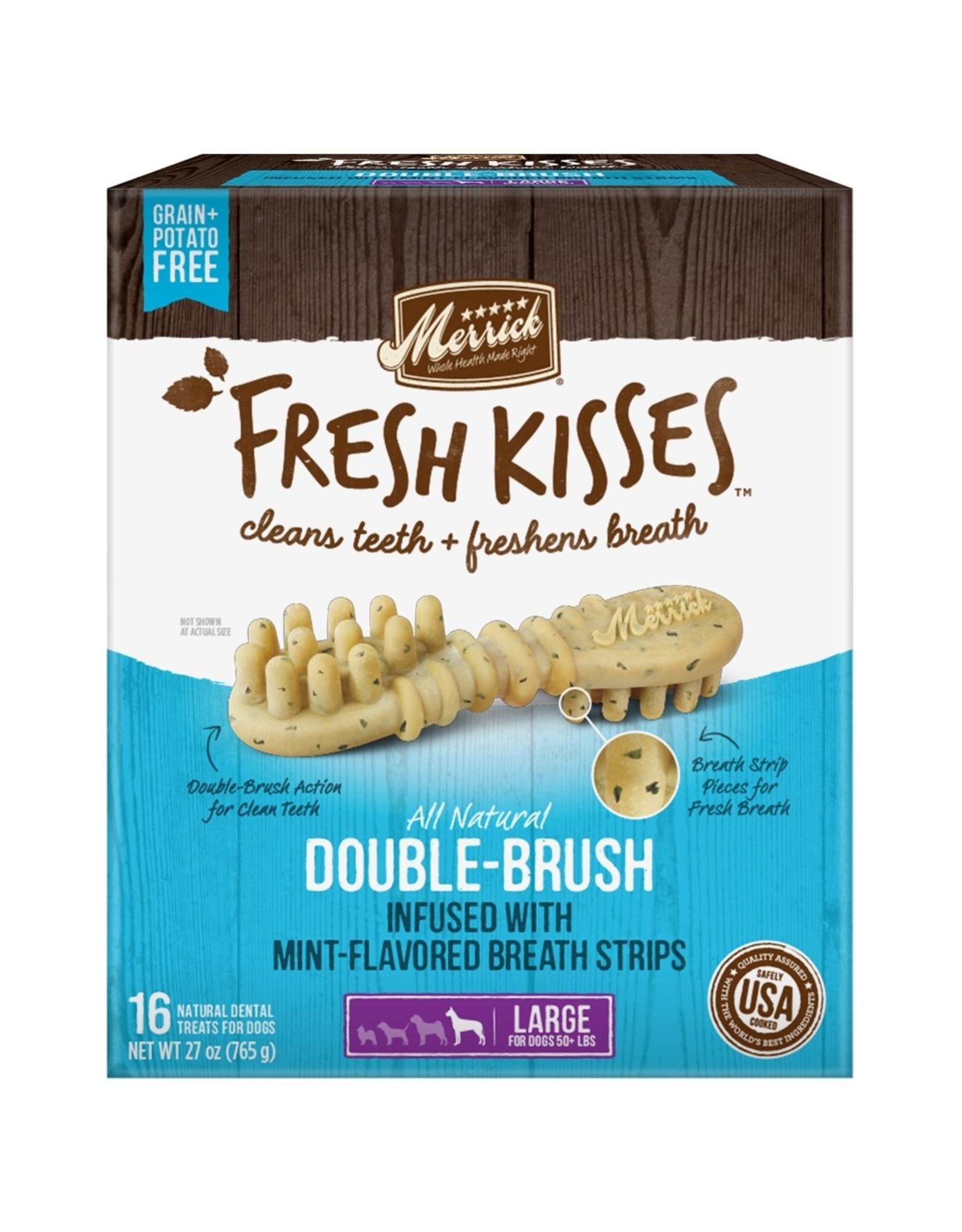 Merrick Fresh Kisses Mint (L) 16 count