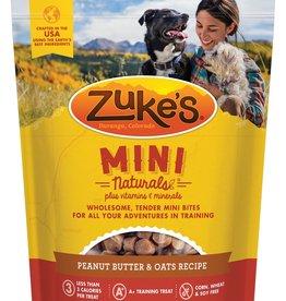 Zukes Mini Naturals PB & Oats Treats 6oz