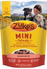 Zukes Mini Naturals Salmon Treats 6oz