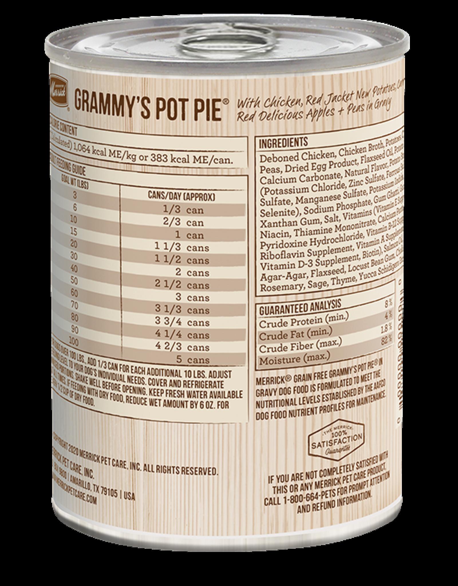 Merrick Grammy's Pot Pie Can (GF)