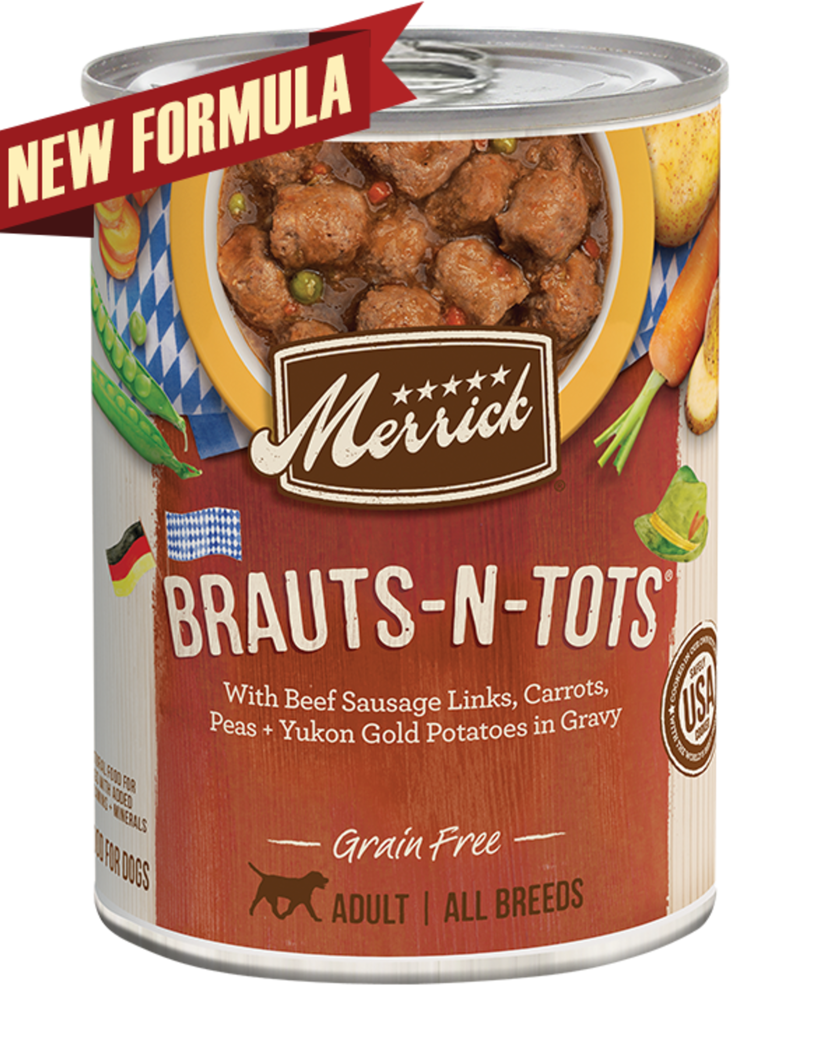 Merrick Brauts-N-Tots Can (GF)