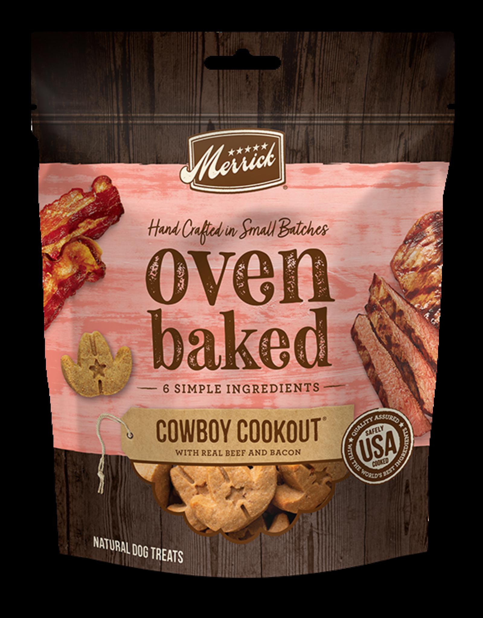 Merrick Oven Baked Cowboy Cookout Treats