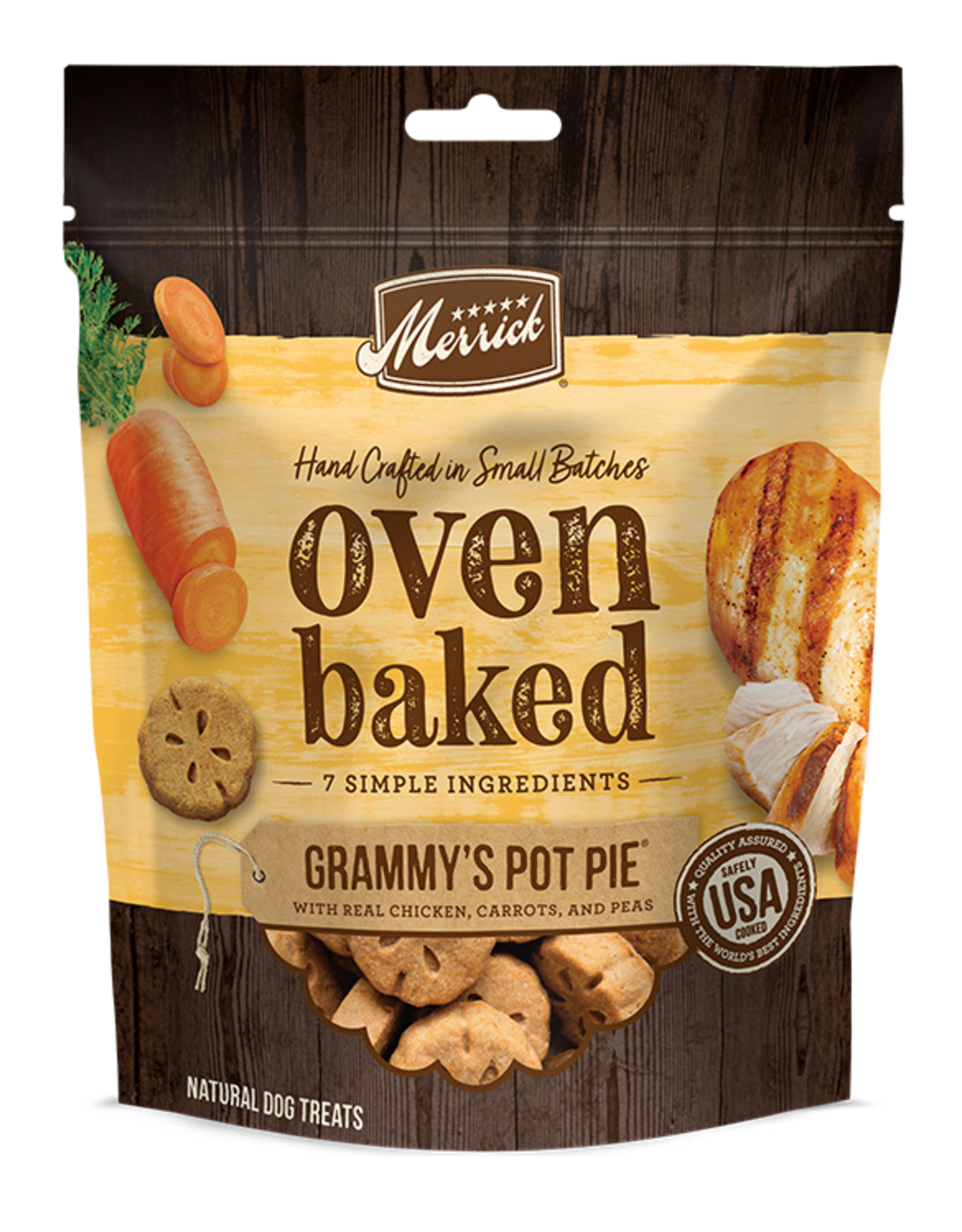 Merrick Oven Baked Grammys Pot Pie Treats