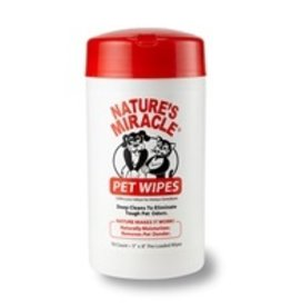 Nature's Miracle Pet Grooming Wipes