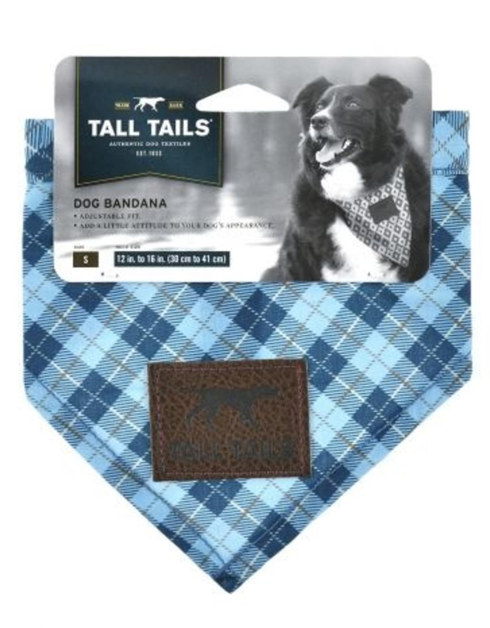 Tall Tails Bandana Blue Small