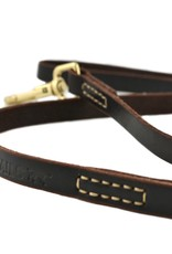 Tall Tails Leash - Leather Large