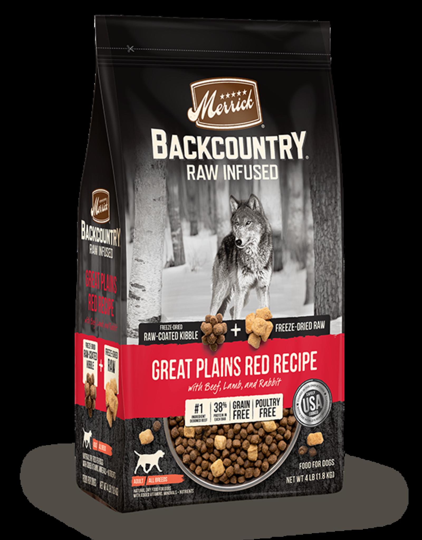 Merrick Merrick Backcountry Great Plains Red Meat (GF) 20lbs
