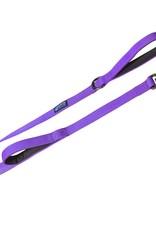 Max & Neo Double Handle Leash -  Purple 4ft