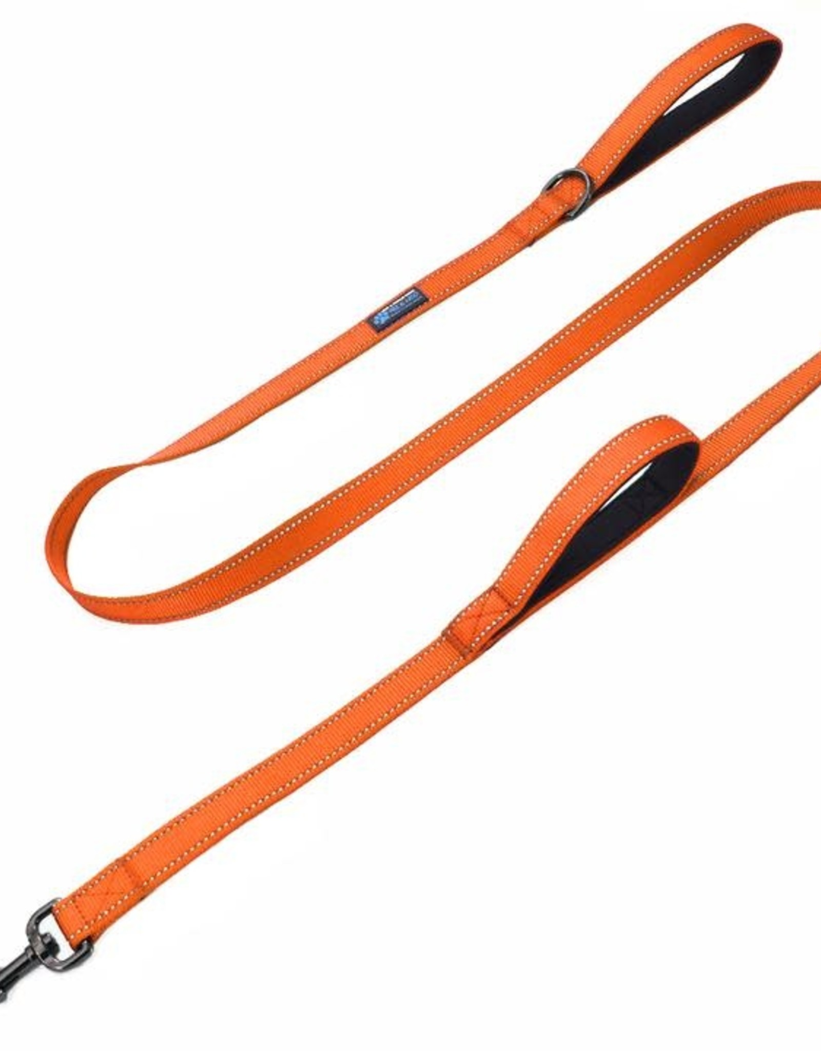 Max & Neo Double Handle Leash- Orange 6ft