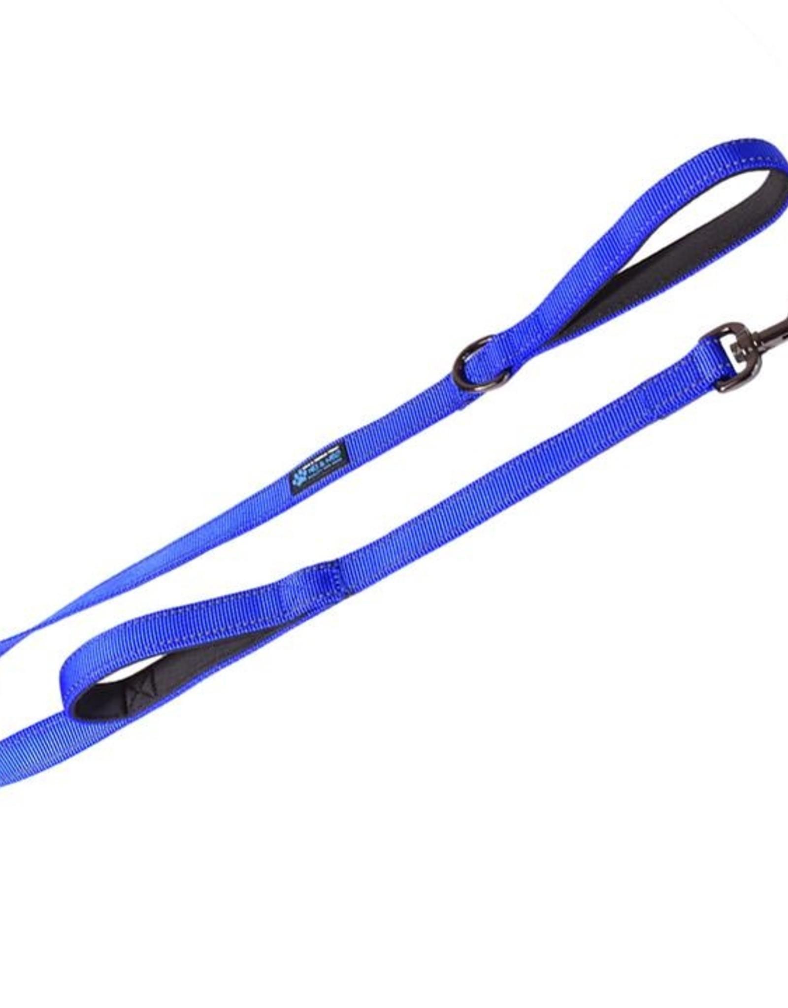 Max & Neo Double Handle Leash - Blue 4ft
