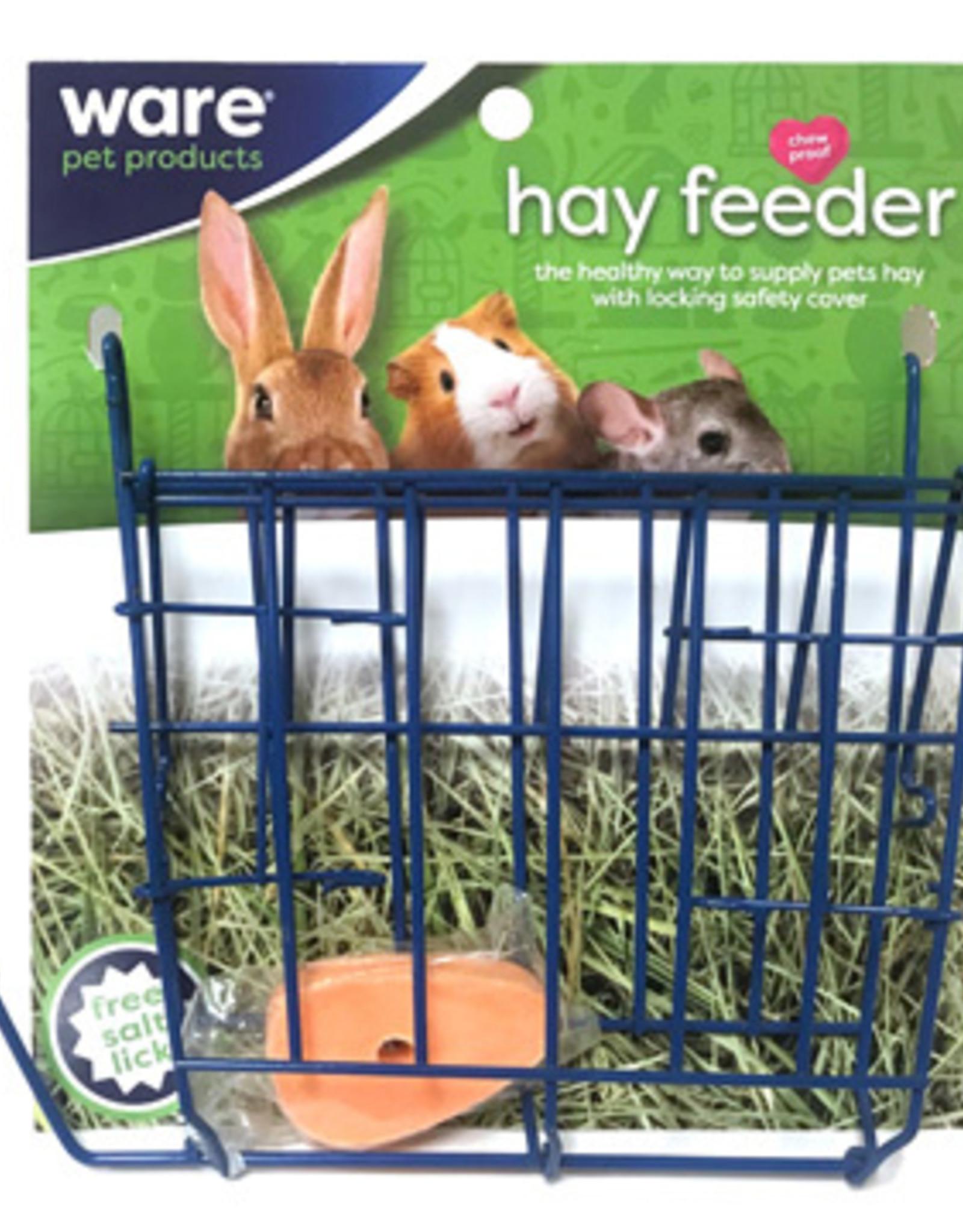 Ware Hay Feeder with Salt Lick
