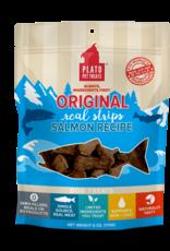 PLATO DOG TREATS Plato Pet Treats - 18 oz Salmon Strips