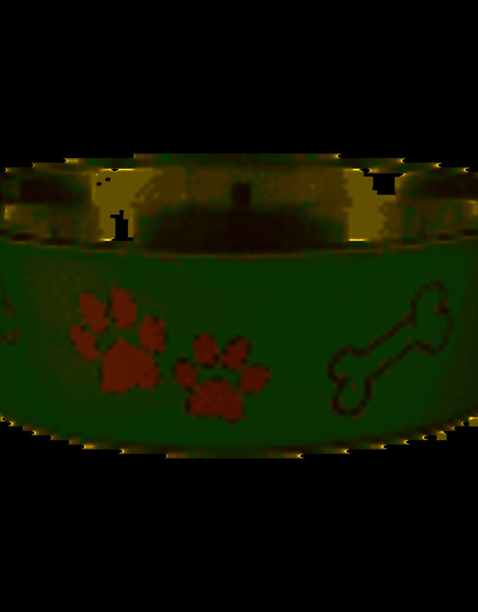 Loving pets Bella Bowl- Artichoke Med