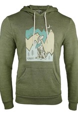 Grounds & Hounds Escape Sidekick Hoodie Green Md
