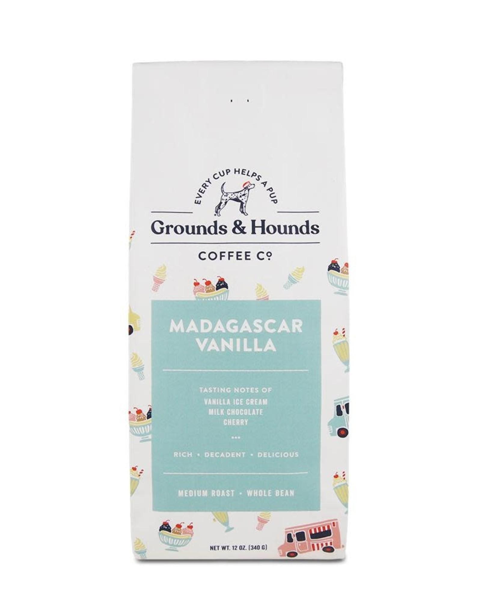 Grounds & Hounds Ground Coffee - Madagascar Vanilla