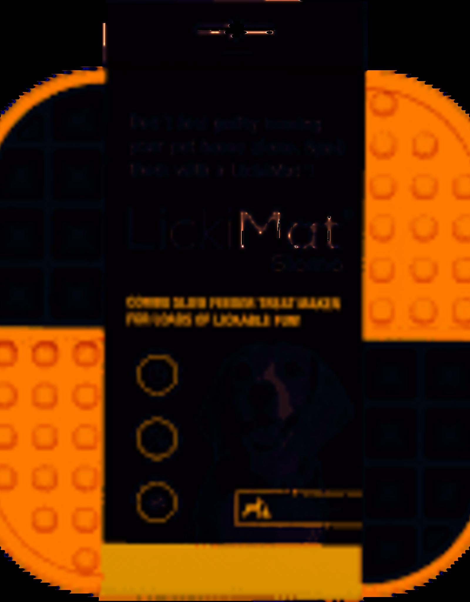 LickiMat Slomo Orange