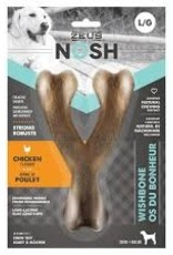 Zeus Nosh Strong Wishbone, Bacon, Lg