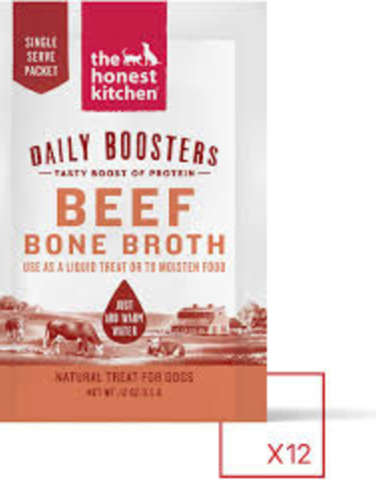 Honest Kitchen Bone Broth w/ Turmeric  Individual  .12 oz