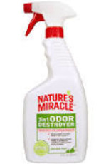 Nature's Miracle 3 in 1 Odor Destroyer Spray  Mountain Scent 24 oz