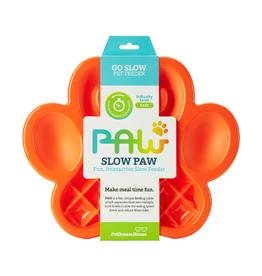 Pet Dream House PAW Slow Feeder - Orange