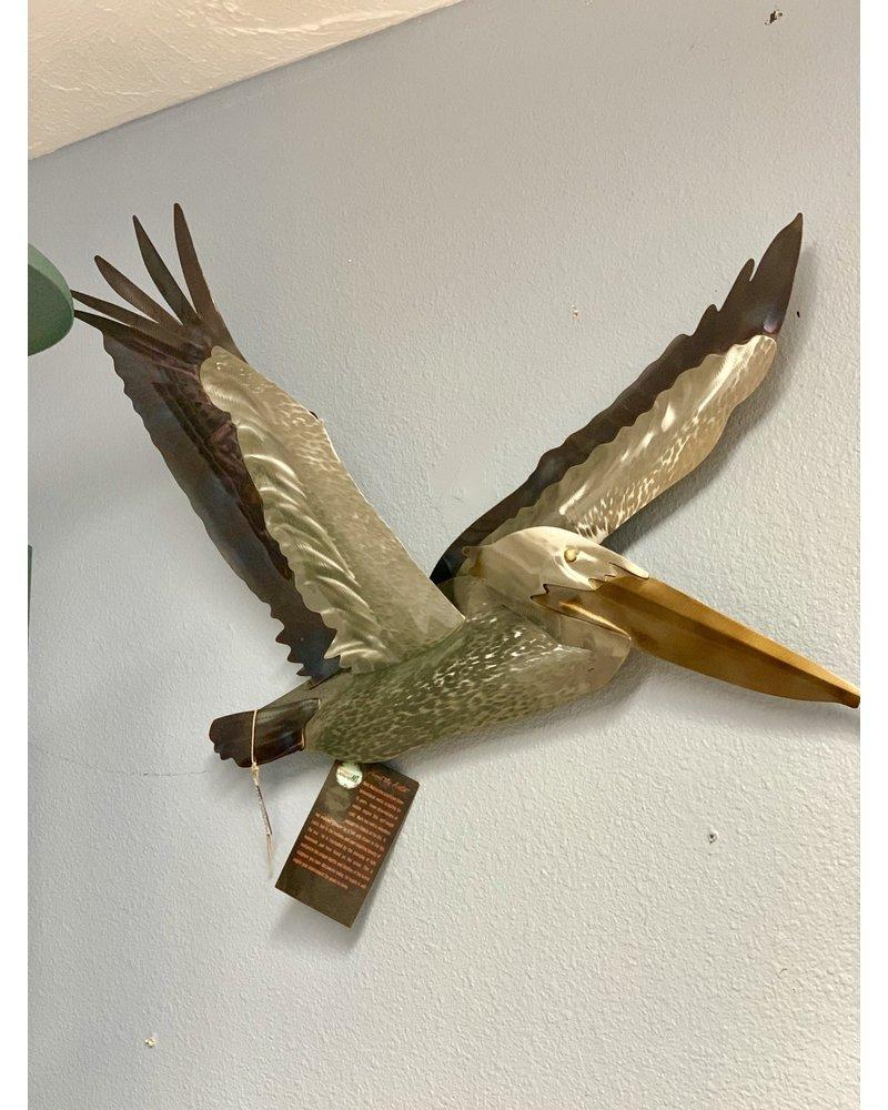 Pelican Flying Wings Up