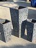 LAVA SLIM SQUARE LARGE PLANTER GLAZED IN BOILING OCBALT